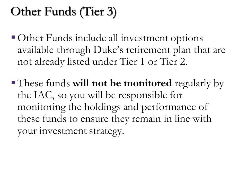Default Investment Option