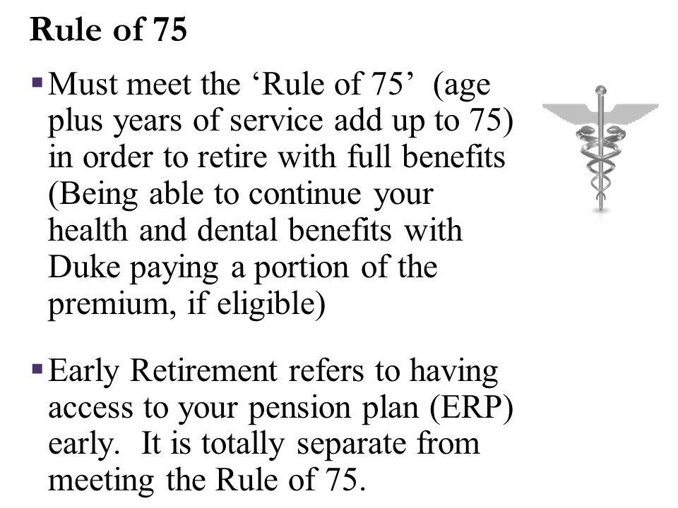Ineligible for Retiree Health/Dental Insurance