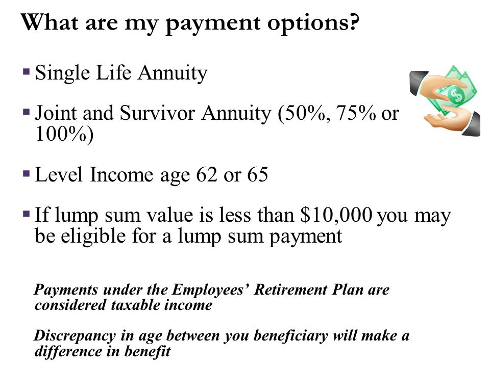 When can I start to receive a benefit