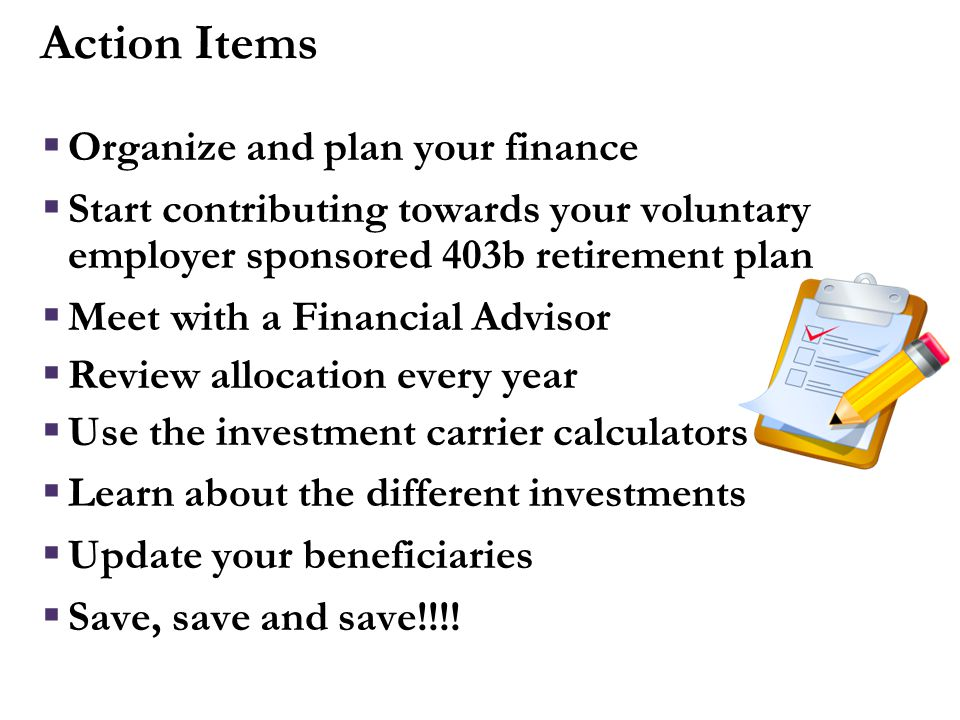 More Information Financial Planning Tools on Benefits web site (www.hr.duke.edu/benefits/retirement - Click on Retirement Manager )