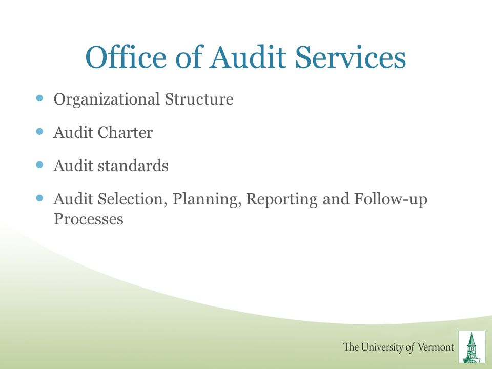 Office of Audit Services