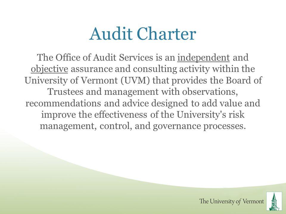 Audit Charter