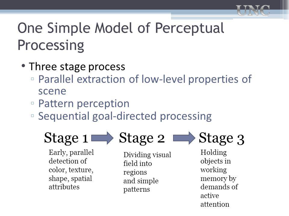 One Simple Model of Perceptual Processing