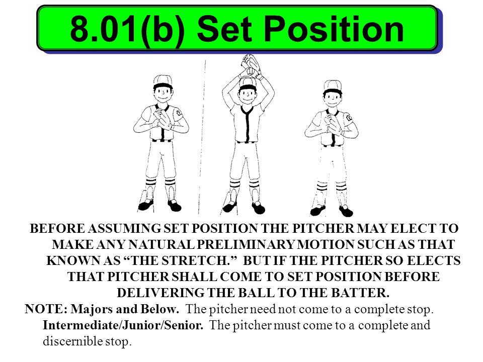 8.01(b) Set Position