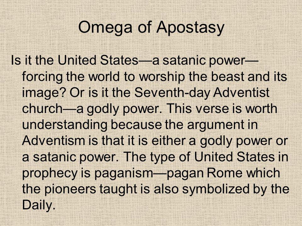 Omega of Apostasy