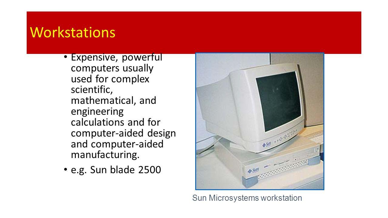 Sun Microsystems workstation