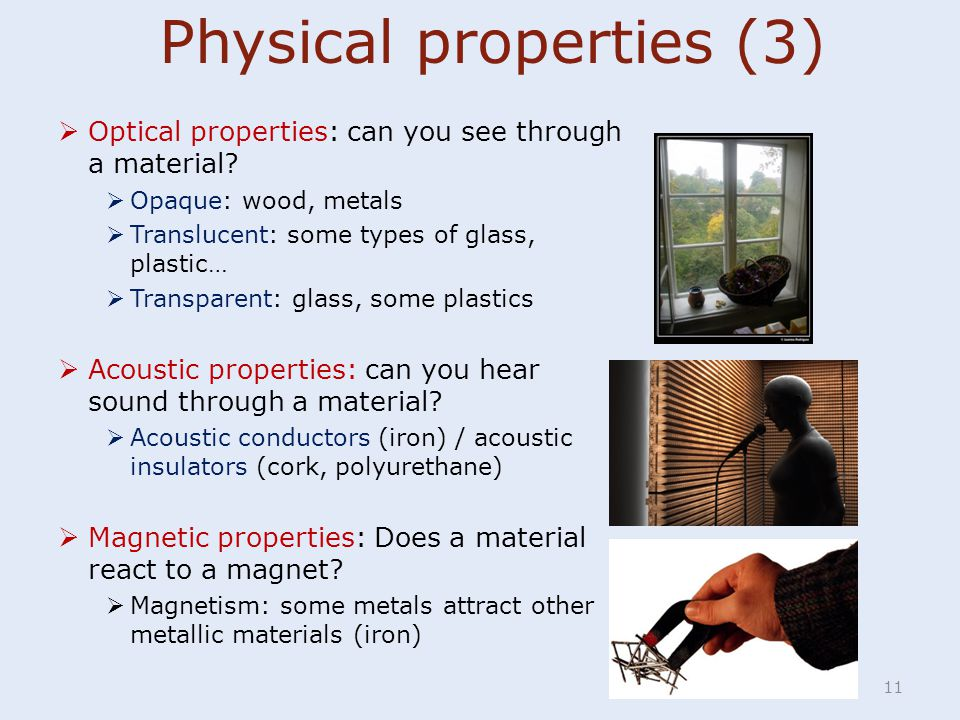 Physical properties (3)