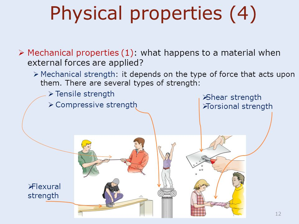 Physical properties (4)
