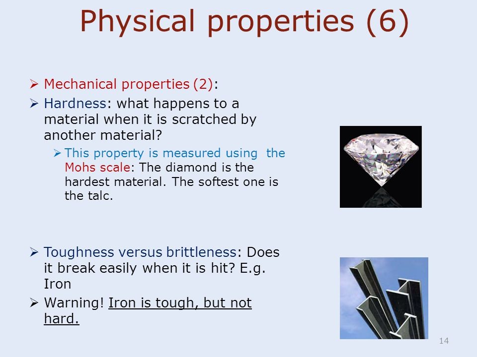 Physical properties (6)