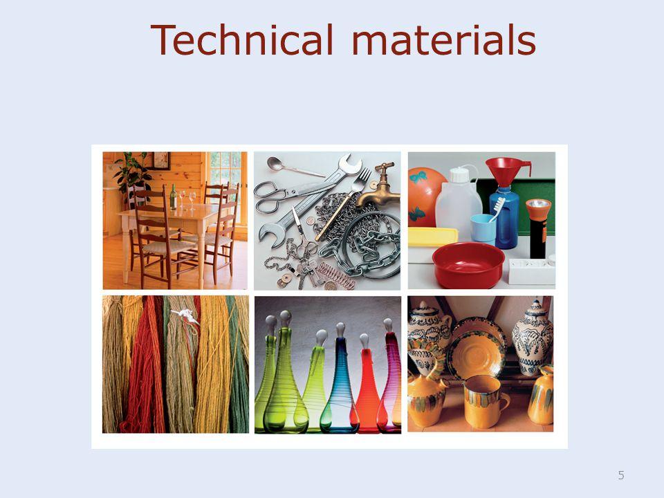 Technical materials