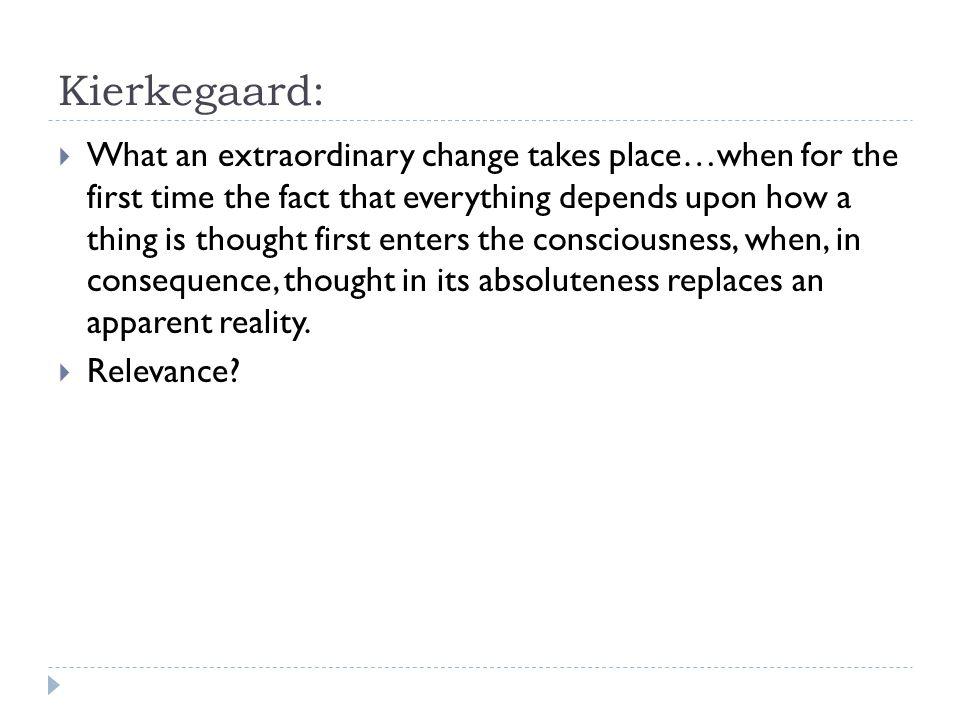 Kierkegaard: