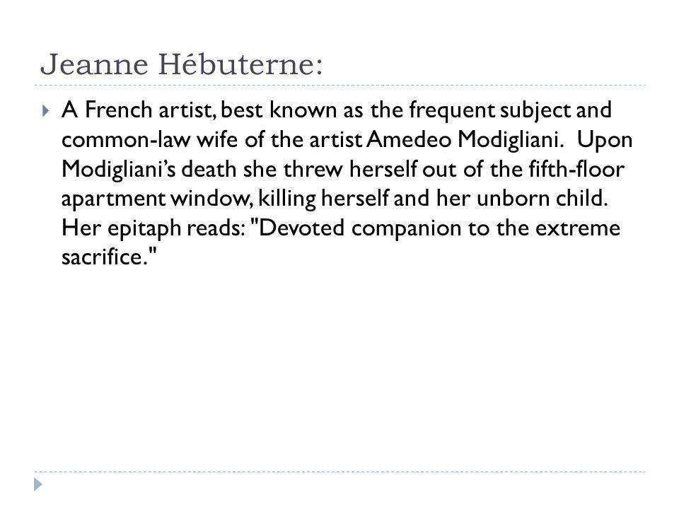 Jeanne Hébuterne: