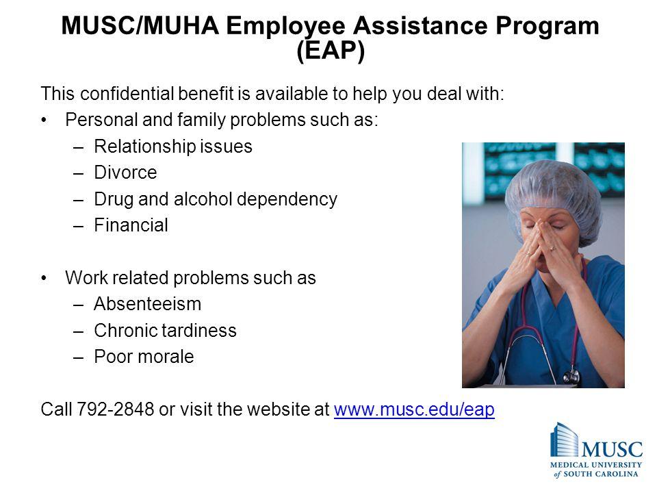 MUSC/MUHA Employee Assistance Program (EAP)