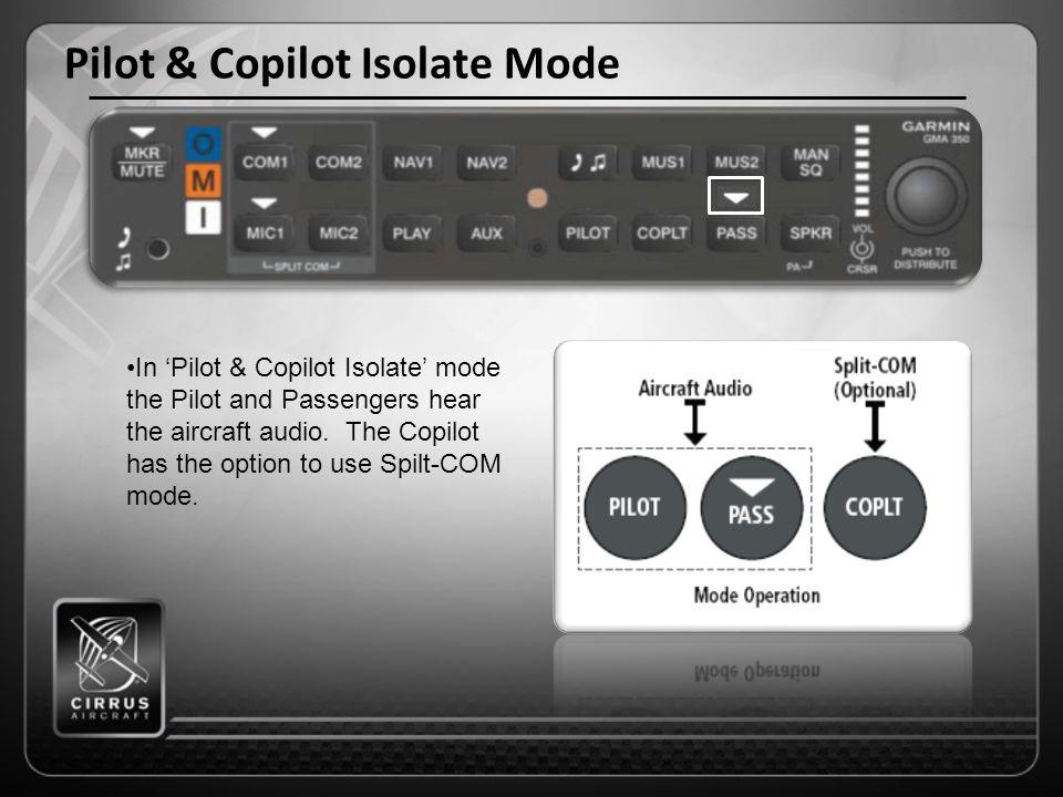 Pilot & Copilot Isolate Mode