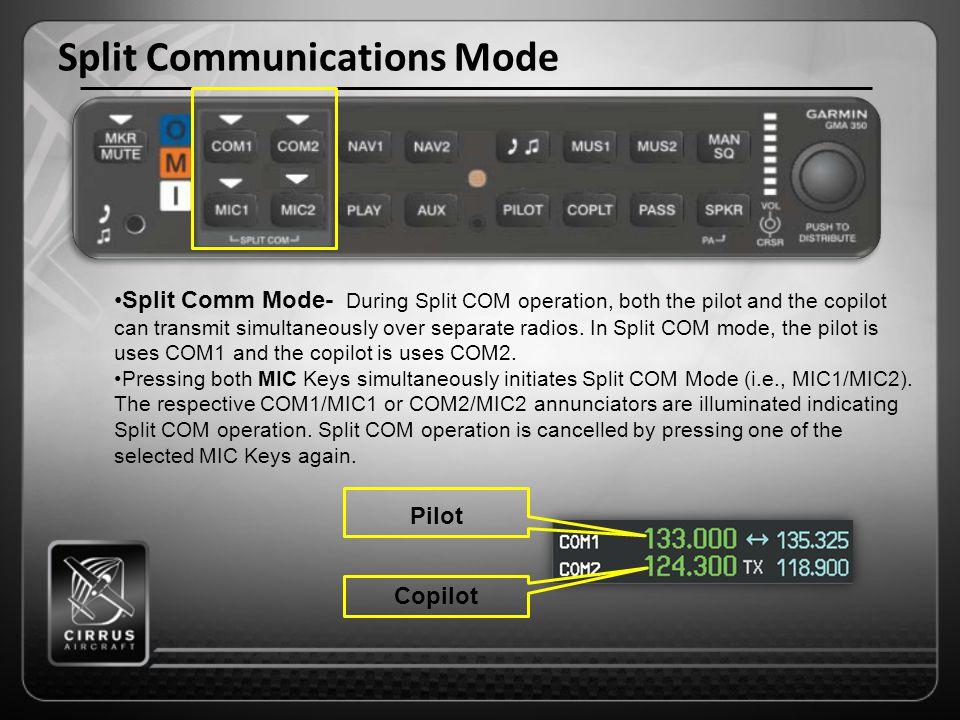 Split Communications Mode