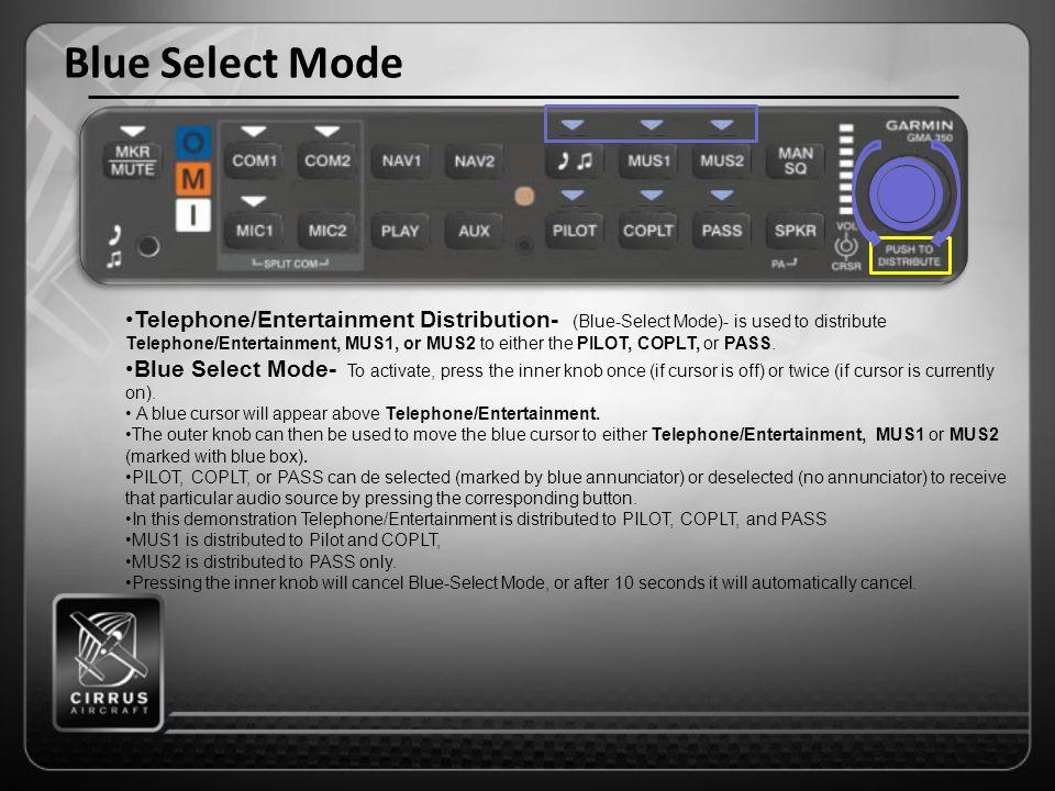 Blue Select Mode