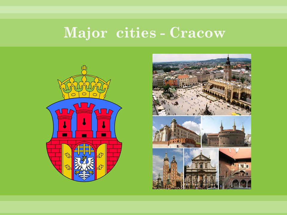 Major cities - Cracow