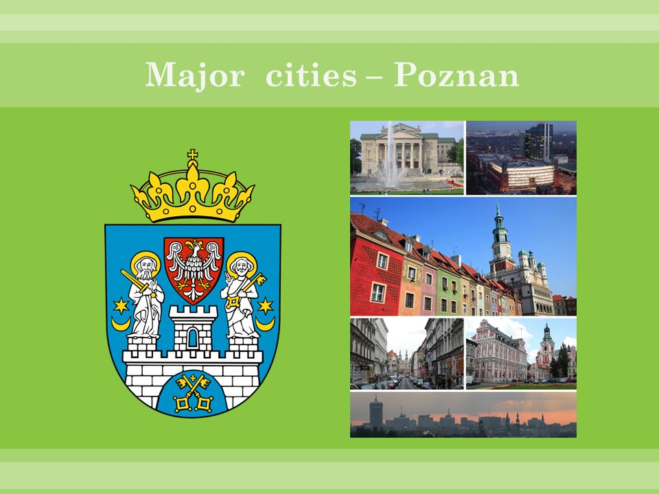 Major cities – Poznan