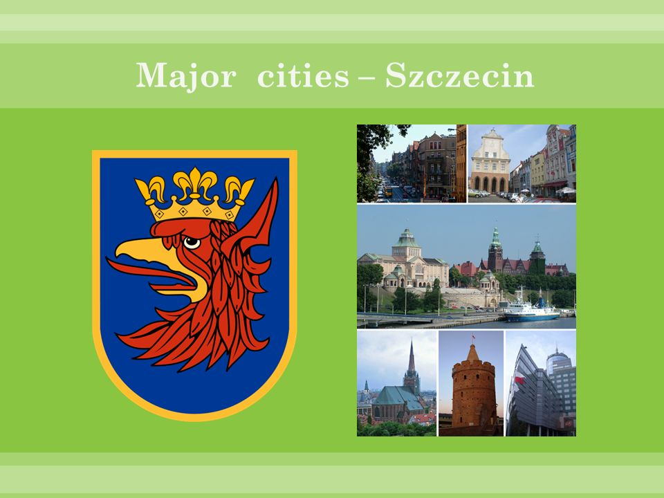 Major cities – Szczecin