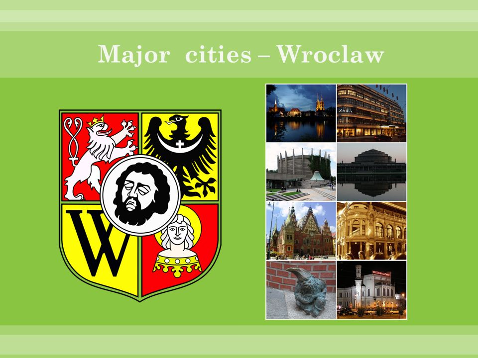 Major cities – Wroclaw