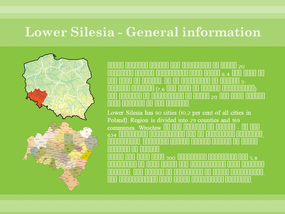 Lower Silesia - General information