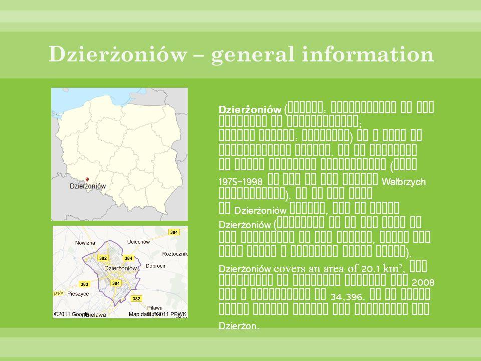 Dzierżoniów – general information