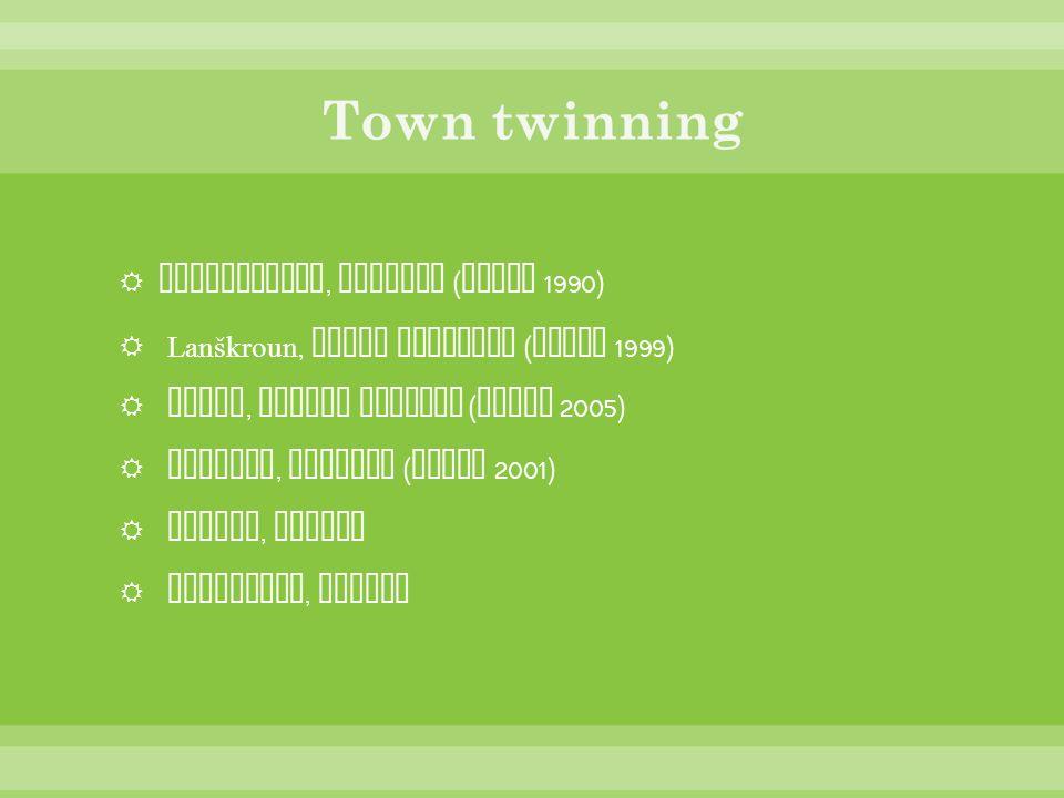 Town twinning Bischofheim, Germany (since 1990)