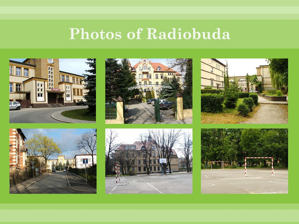 Photos of Radiobuda
