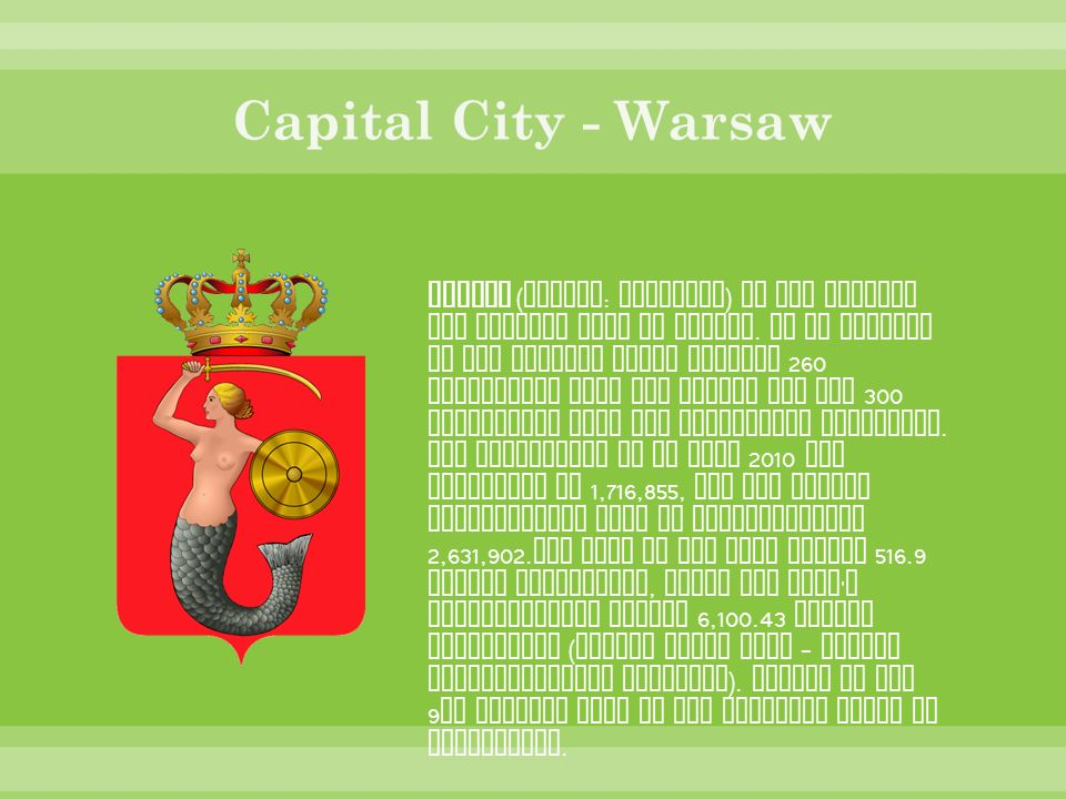 Capital City - Warsaw
