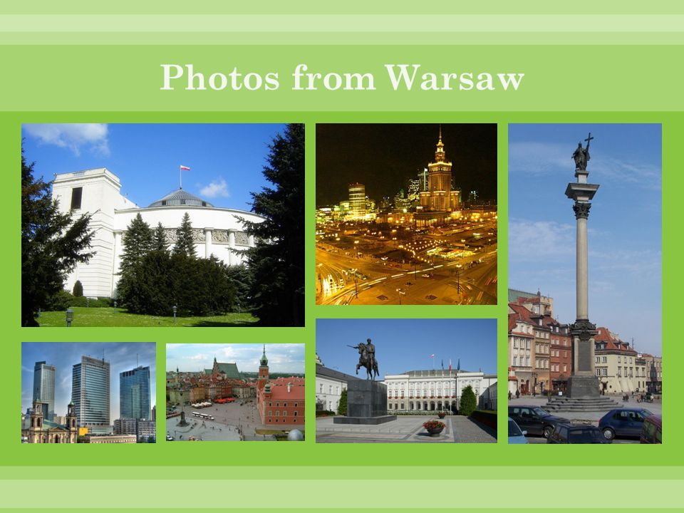Photos from Warsaw
