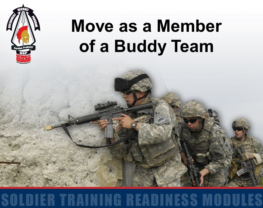 Move as a Member of a Buddy Team