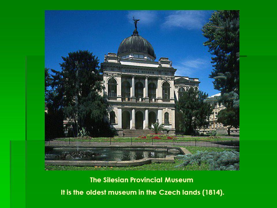 The Silesian Provincial Museum
