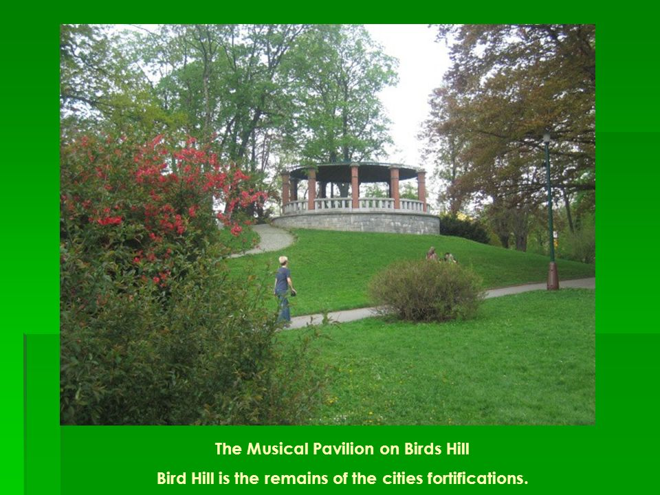 The Musical Pavilion on Birds Hill