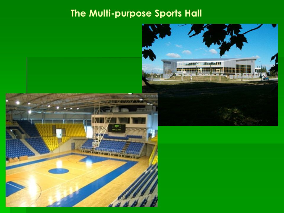 The Multi-purpose Sports Hall