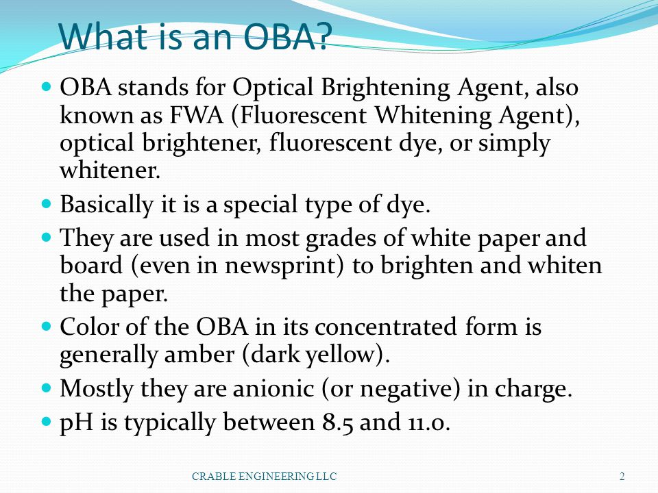 What is an OBA