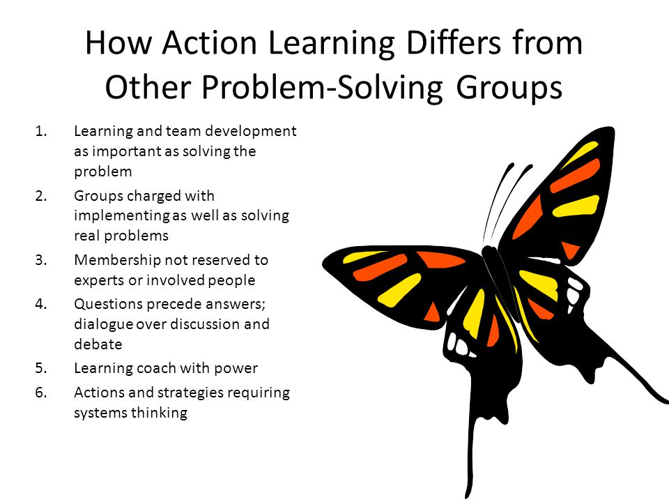 How Action Learning Differs from Other Problem-Solving Groups