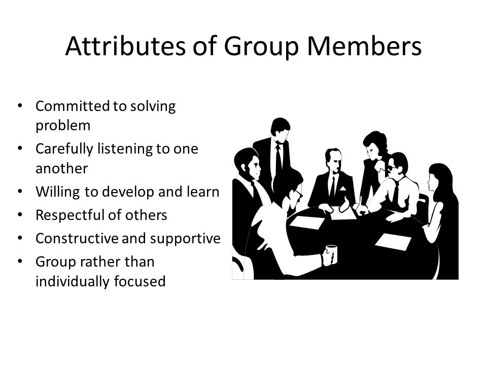 Attributes of Group Members