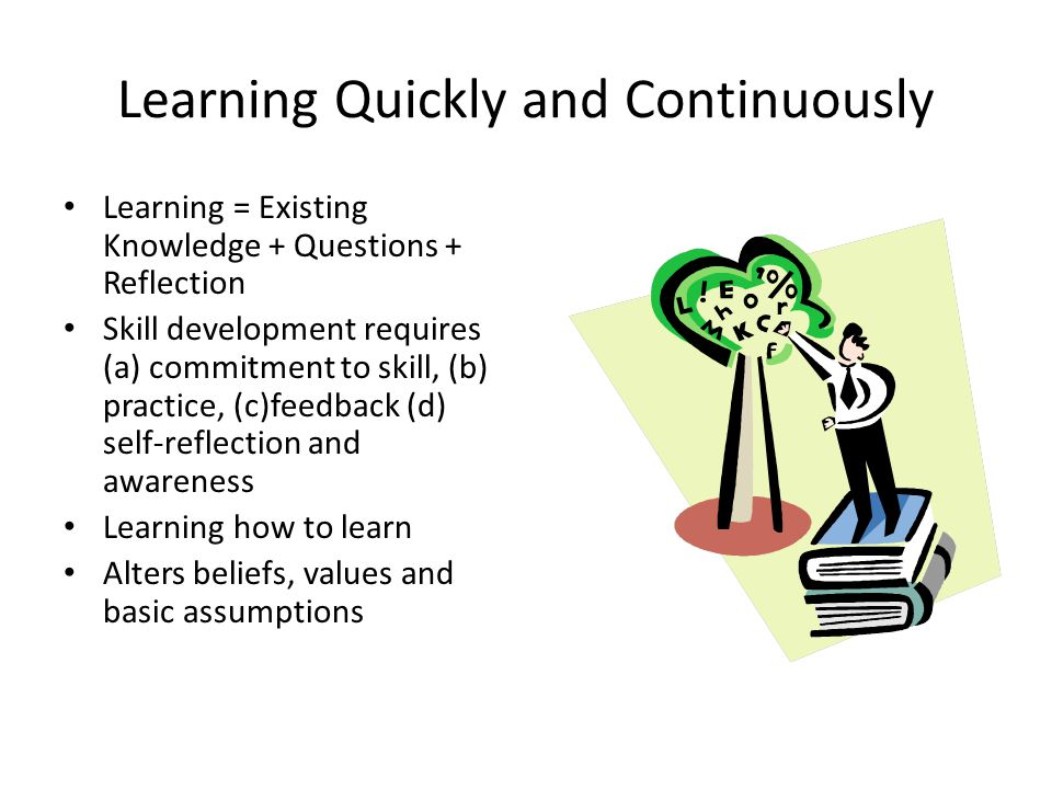 Learning Quickly and Continuously
