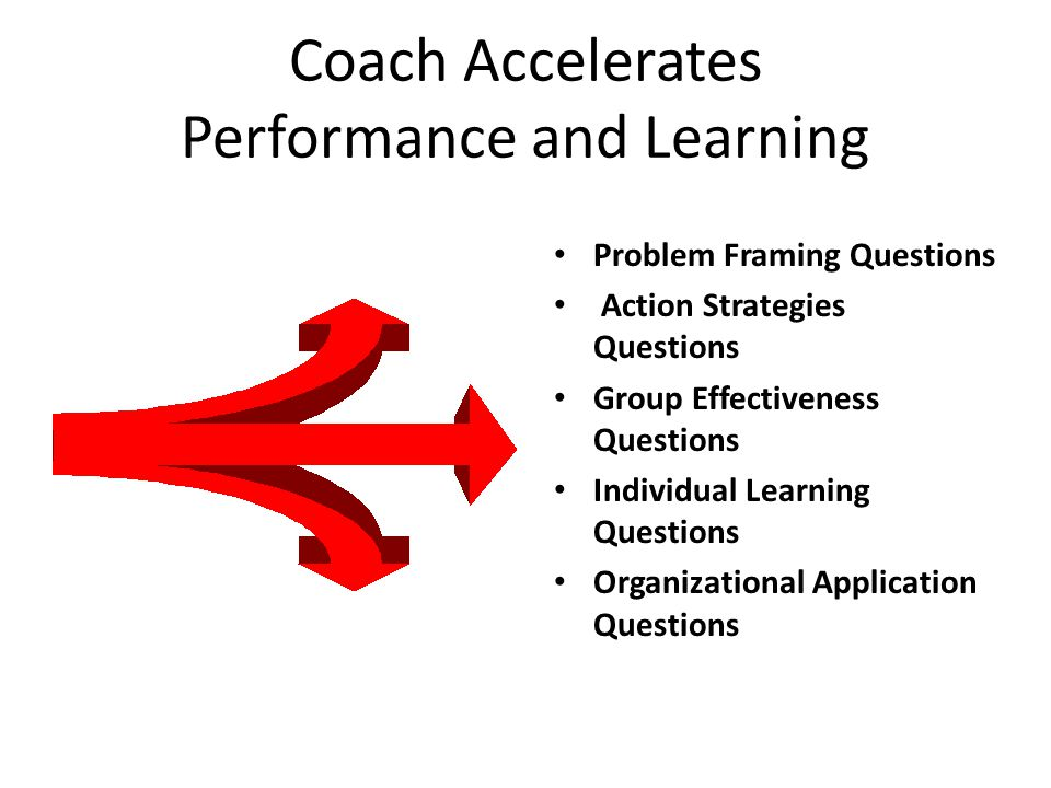 Coach Accelerates Performance and Learning
