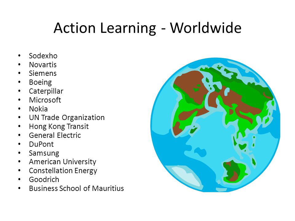 Action Learning - Worldwide