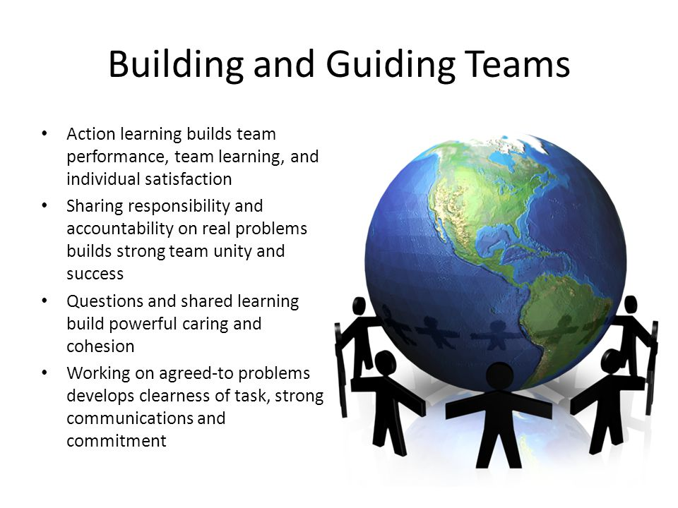 Building and Guiding Teams