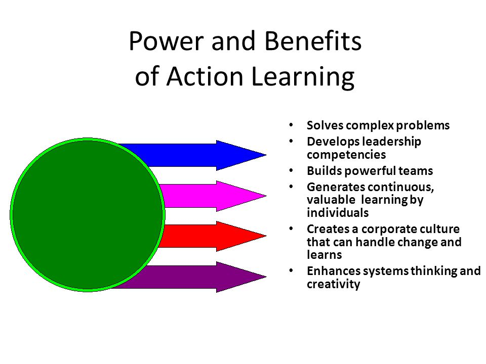 Power and Benefits of Action Learning