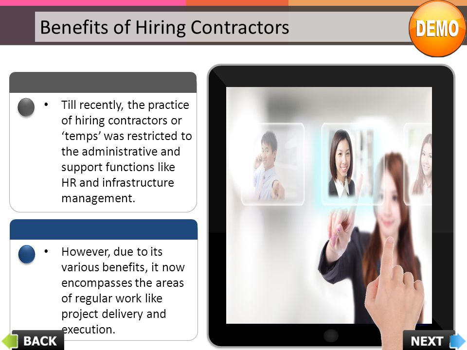Benefits of Hiring Contractors