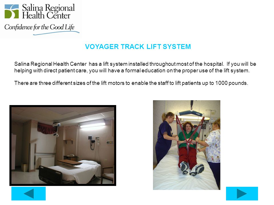 VOYAGER TRACK LIFT SYSTEM
