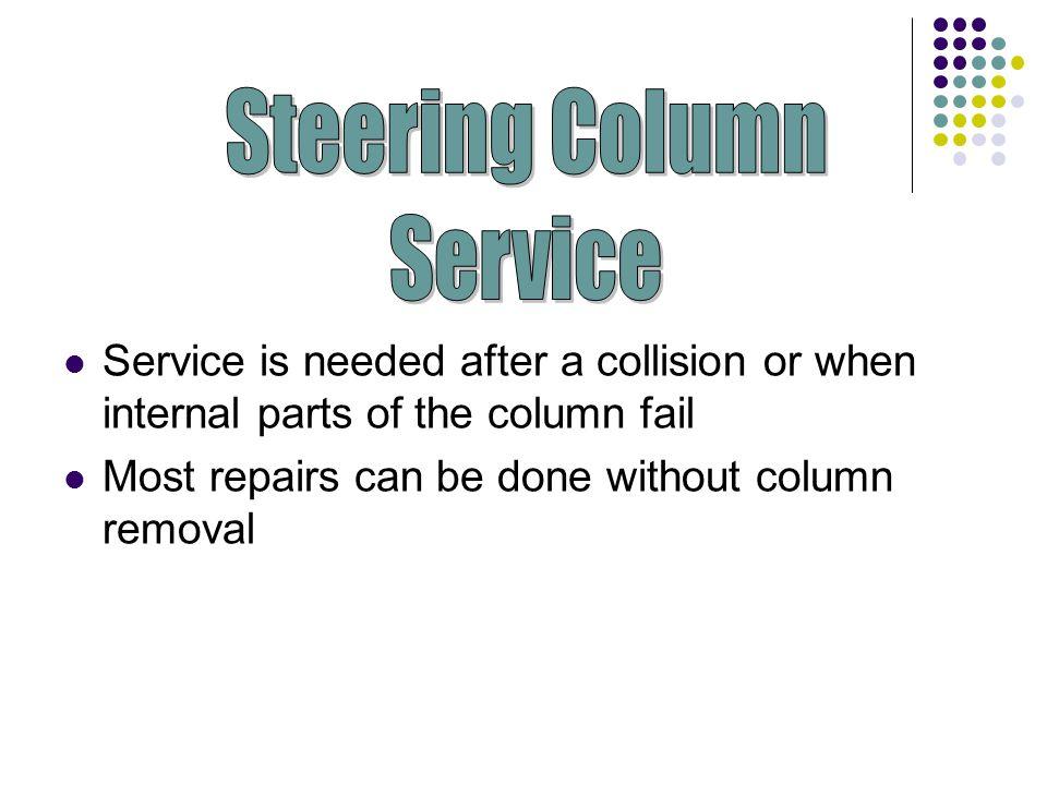 Steering Column Service