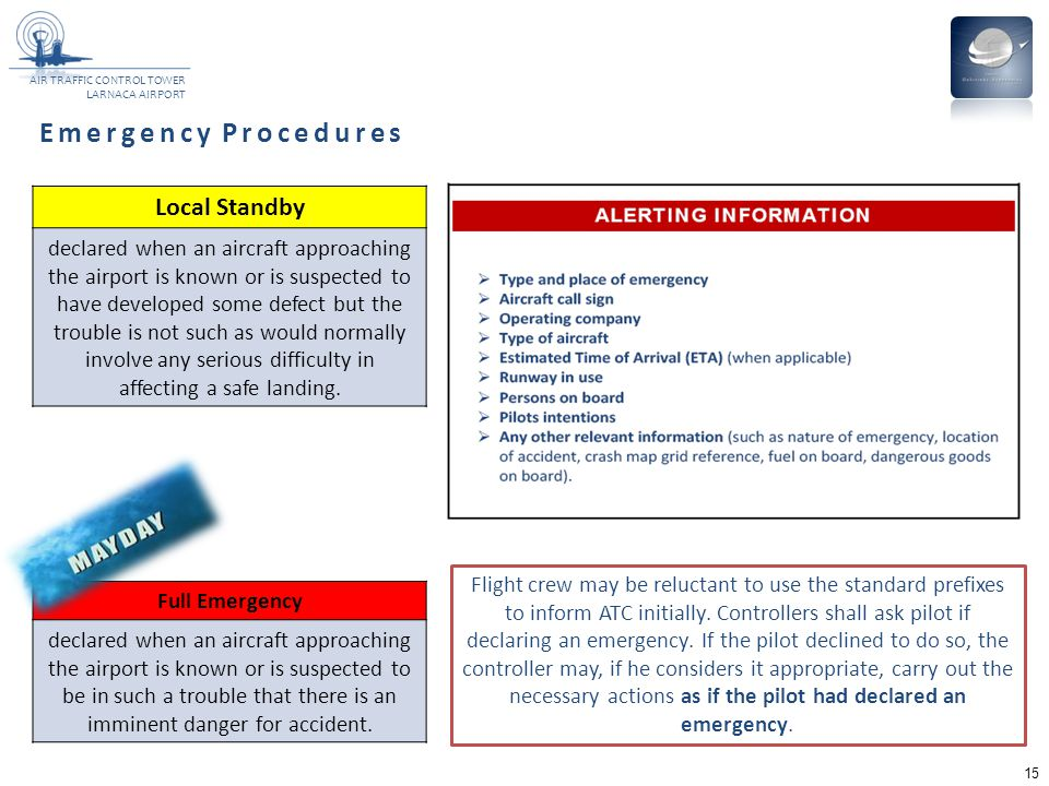 Emergency Procedures Local Standby