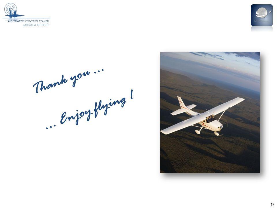 Thank you ... ... Enjoy flying !