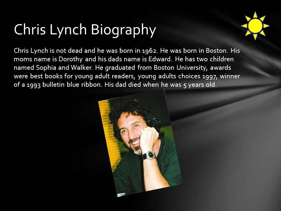 Chris Lynch Biography