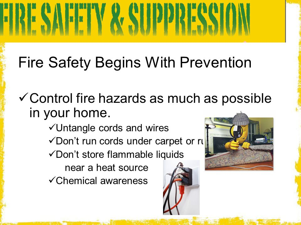 Fire Safety Begins With Prevention