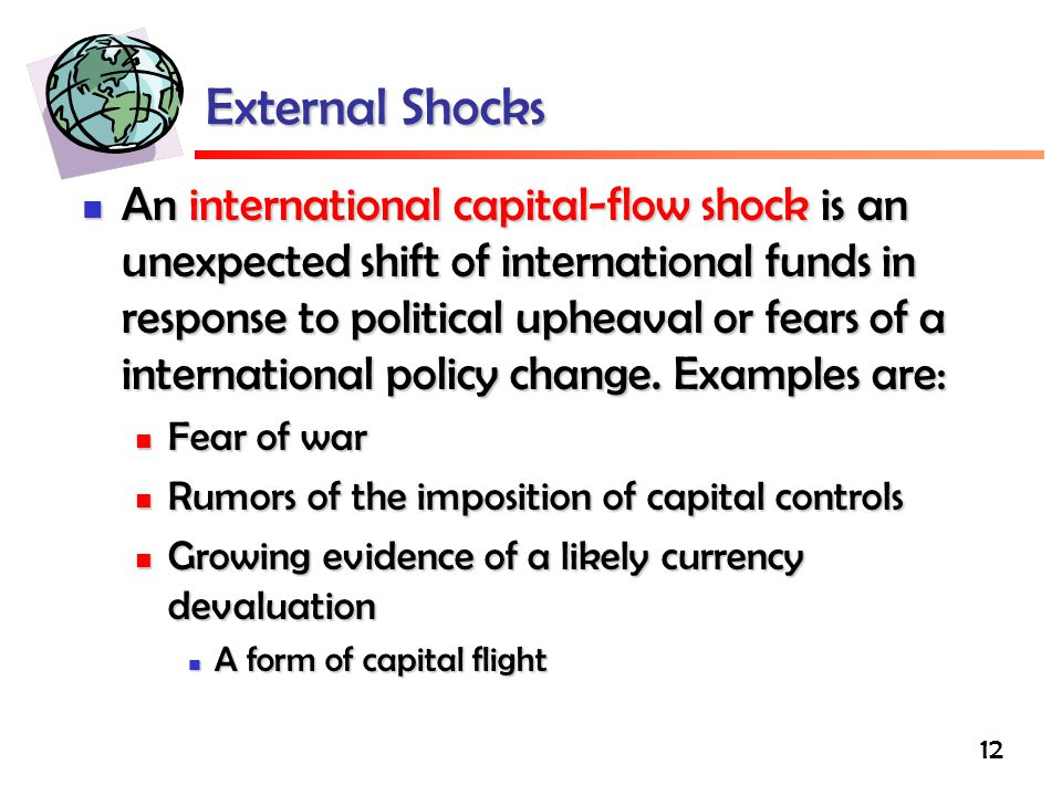 External Shocks